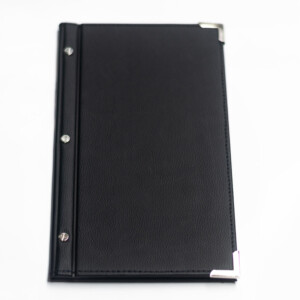 Standard Ex Stock Slimline Leatherette Menu Folder