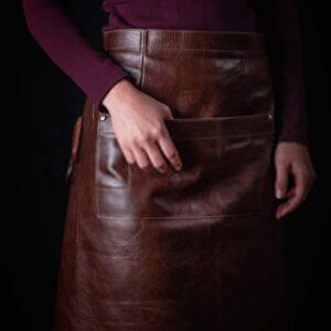 Menu Folders Custom Made Bespoke Aprons Leather South Africa Handmade