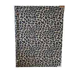 A4 Leopard Inspired Themed Menu Cover Original